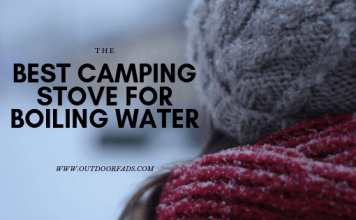 best camping stove for boiling water