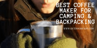 bes coffee maker for backpacking and camping