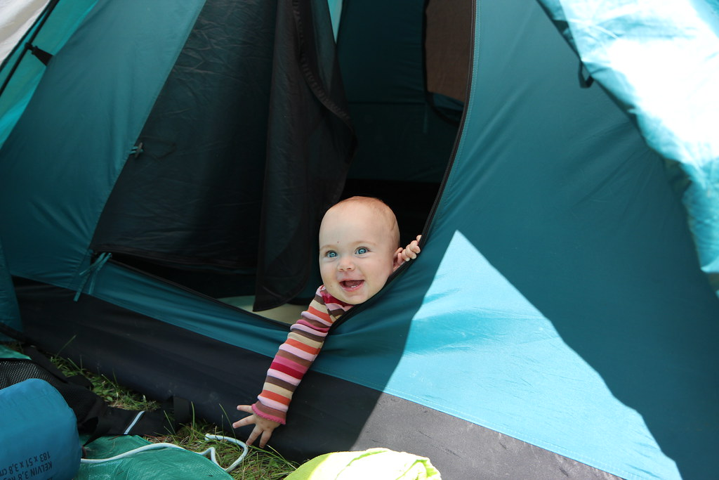 camping with a one year old